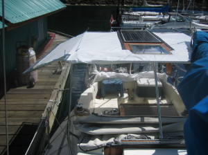 bimini construction with stainless steel