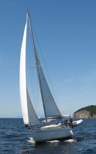 Harken Furler produces perfect sail shape